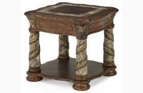 Villa Valencia End Table