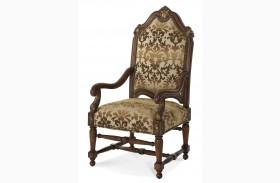 Villa Valencia High Back Wood Chair