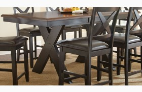 Violante Extendable Rectangular Counter Height Dining Table