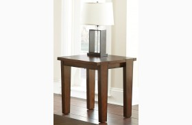 Vince Rustic End Table