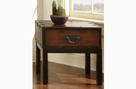 Voyage Medium Cherry End Table