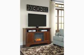 Hamlyn LG TV Stand With Fireplace Insert