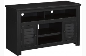 Brasenhaus Black Medium TV Stand