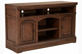 Larrenton Grayish Brown Large TV Stand
