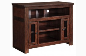 Harpan Reddish Brown Small TV Stand