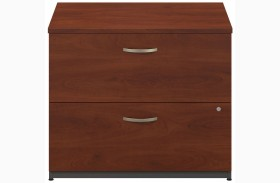 Series C Hansen Cherry 36 Inch 2-Drawer Lateral File