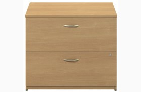 Series C Light Oak 36 Inch 2-Drawer Lateral File