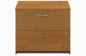 Series C Natural Cherry 36 Inch 2-Drawer Lateral File
