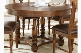 Wyndham Medium Cherry Round Dining Table