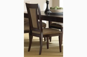 Wilson Merlot Cherry Side Chair Set of 2
