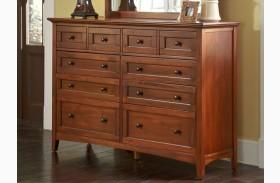 Westlake Cherry Brown Master Dresser