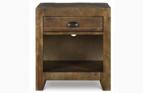 Braxton Open Nightstand