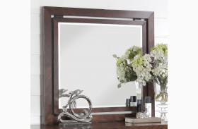 City Lights Dark Chocolate Mirror