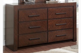 City Lights Dark Chocolate Dresser