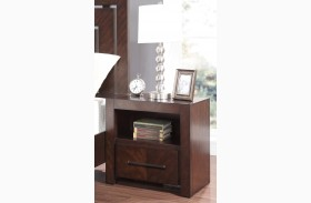 City Lights Dark Chocolate Nightstand