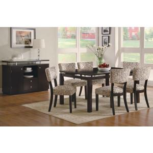 Diva Rectangular Leg Dining Room Set 8808 135 Samuel
