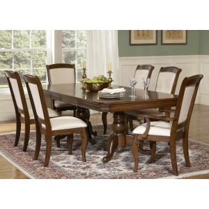 Louis Philippe Double Pedestal Dining Room Set