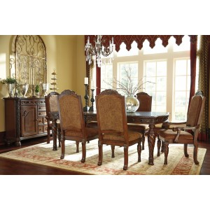 North Shore Rectangular Extendable Dining Room Set