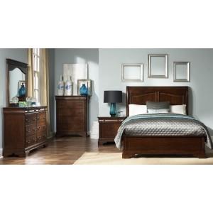 Fenbrook Dark Cocoa Panel Bedroom Set 204390q Coaster