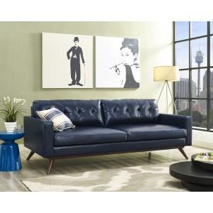 Blake Antique Blue Sofa