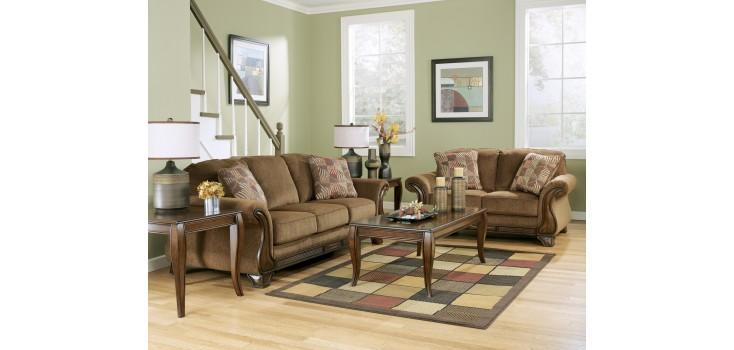 Montgomery collection by ashley furniture coleman furniture for Montgomery mocha living room set