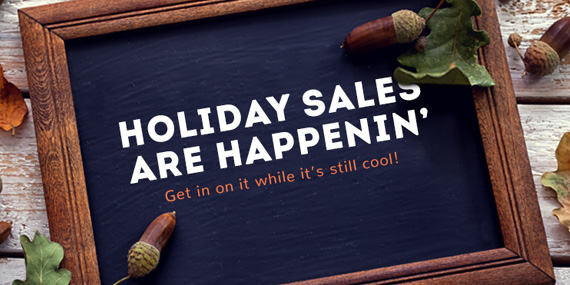 Holiday Sales Are Happenin