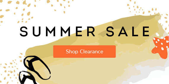 Summer Clearance Is Sizzling