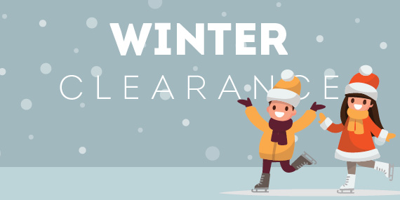 Winter Clearance Going On Now