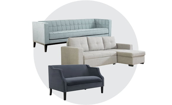 Sofa, Loveseats & Sectionals