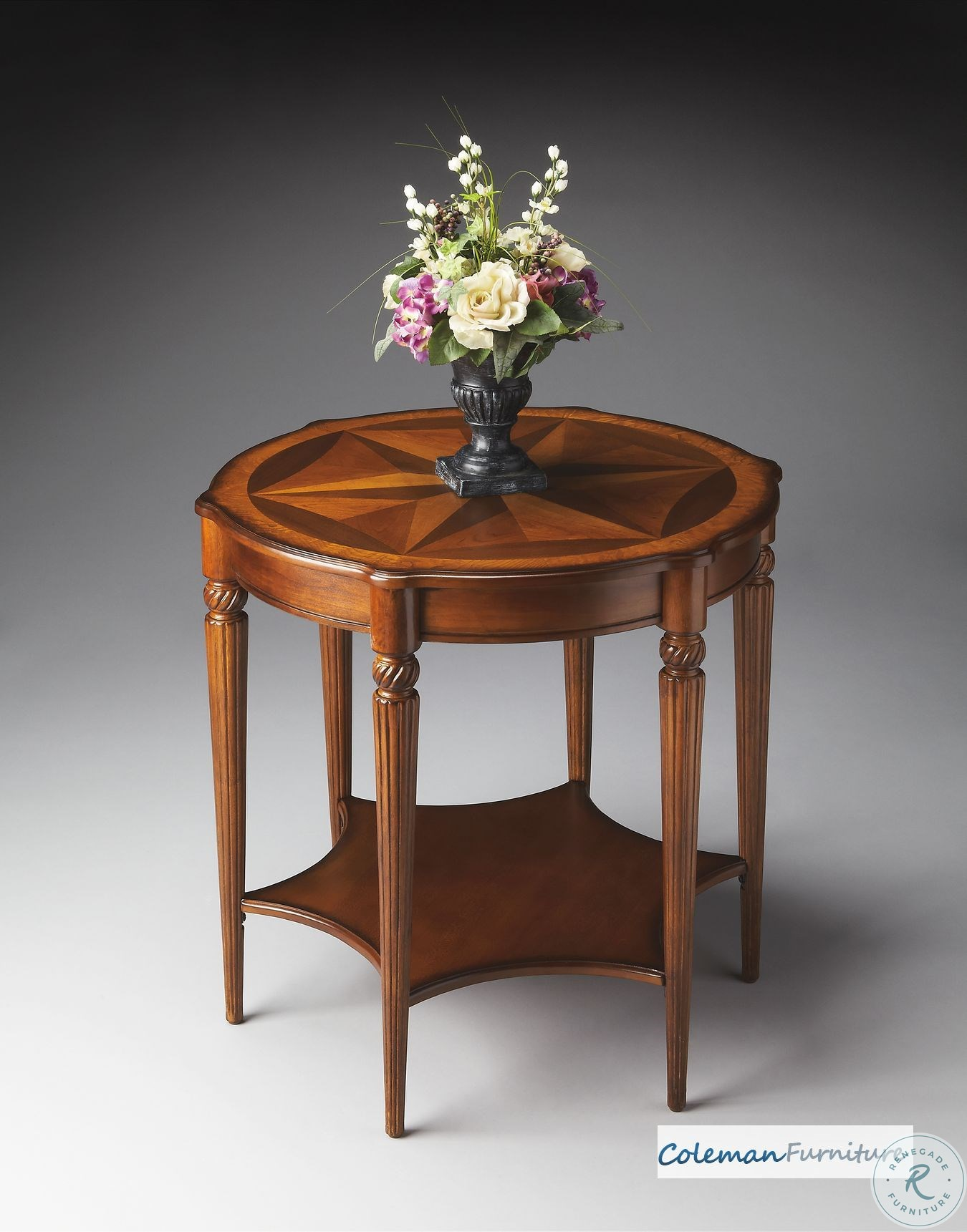 35 best images about tuscan flower arrangements on.htm brown oval drum table from hekman furniture coleman furniture  brown oval drum table from hekman