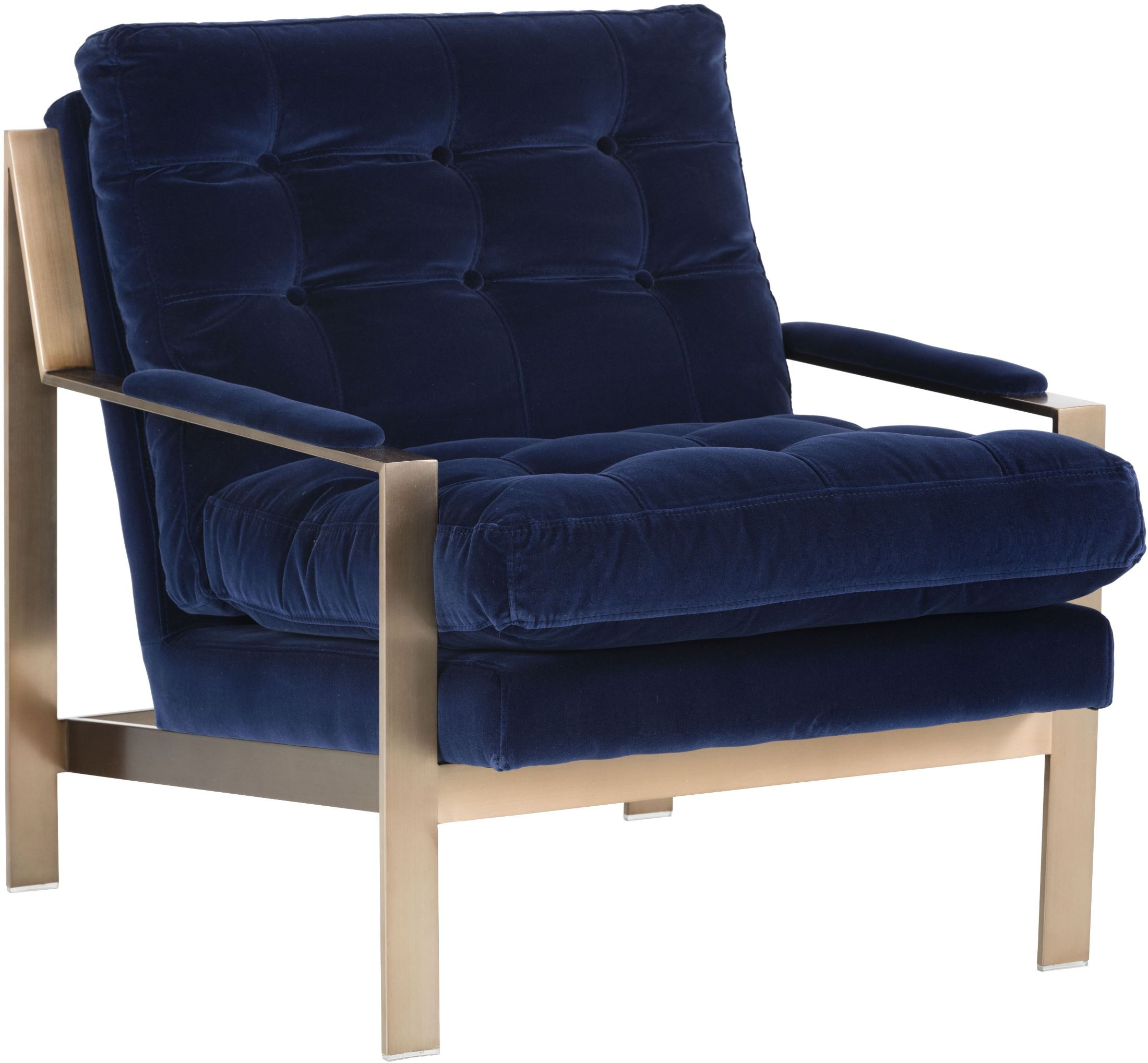 Image Of Item Club Court Giotto Navy Armchair