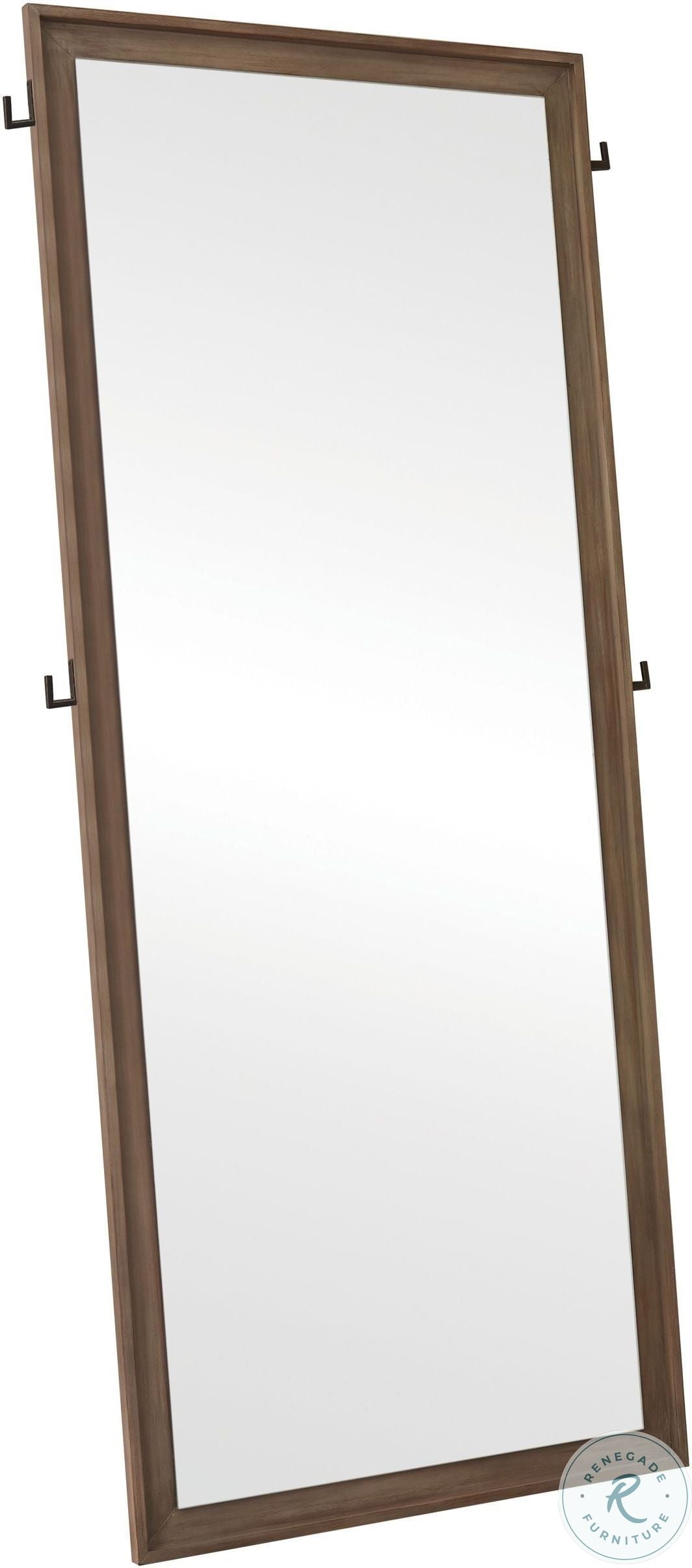 Chatelet Off White Jewelry Armoire Storage Floor Mirror From Hooker Homegallerystore Com 5351 50003