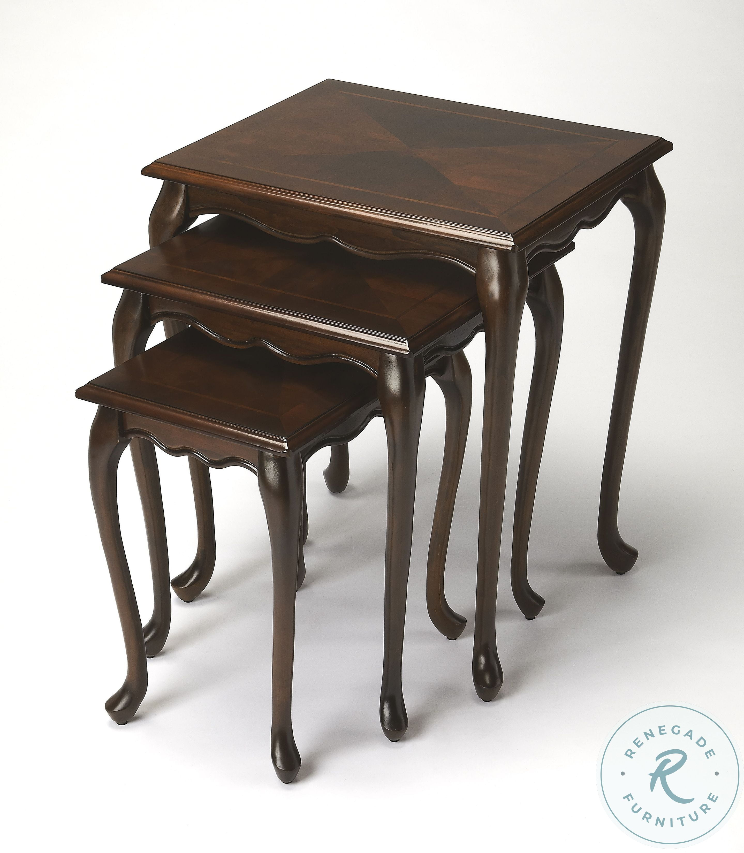 Picture of: Antique Gold Nesting Tables From Butler 4012226 Coleman Furniture