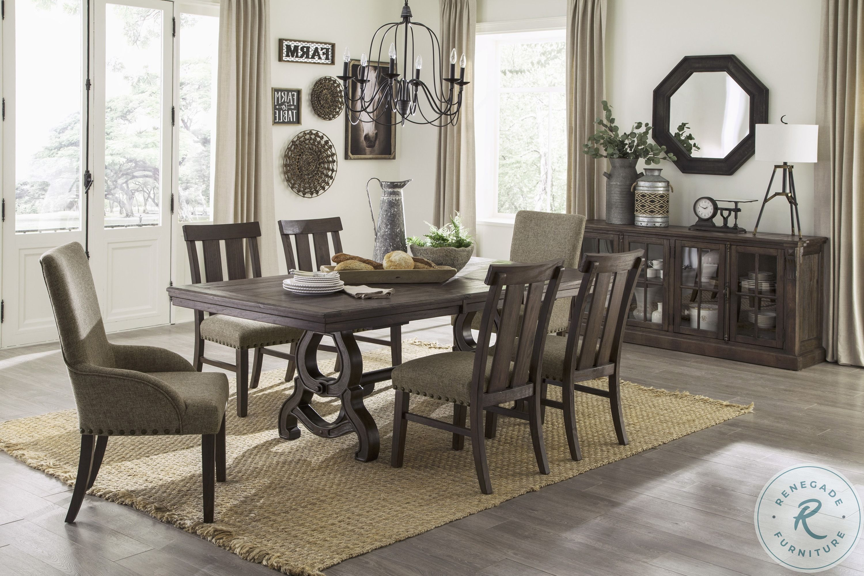 Charmond Brown Extendable Dining Room Set From Ashley Coleman Furniture