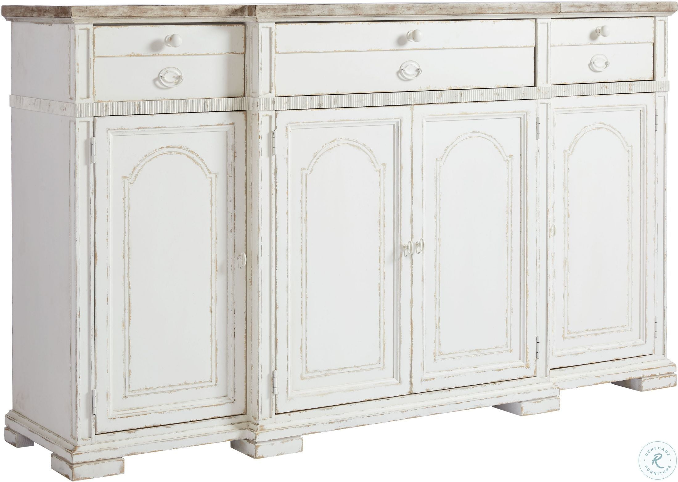 449263b50f1 Juniper Dell 17th Century White Buffet from Stanley | Coleman Furniture