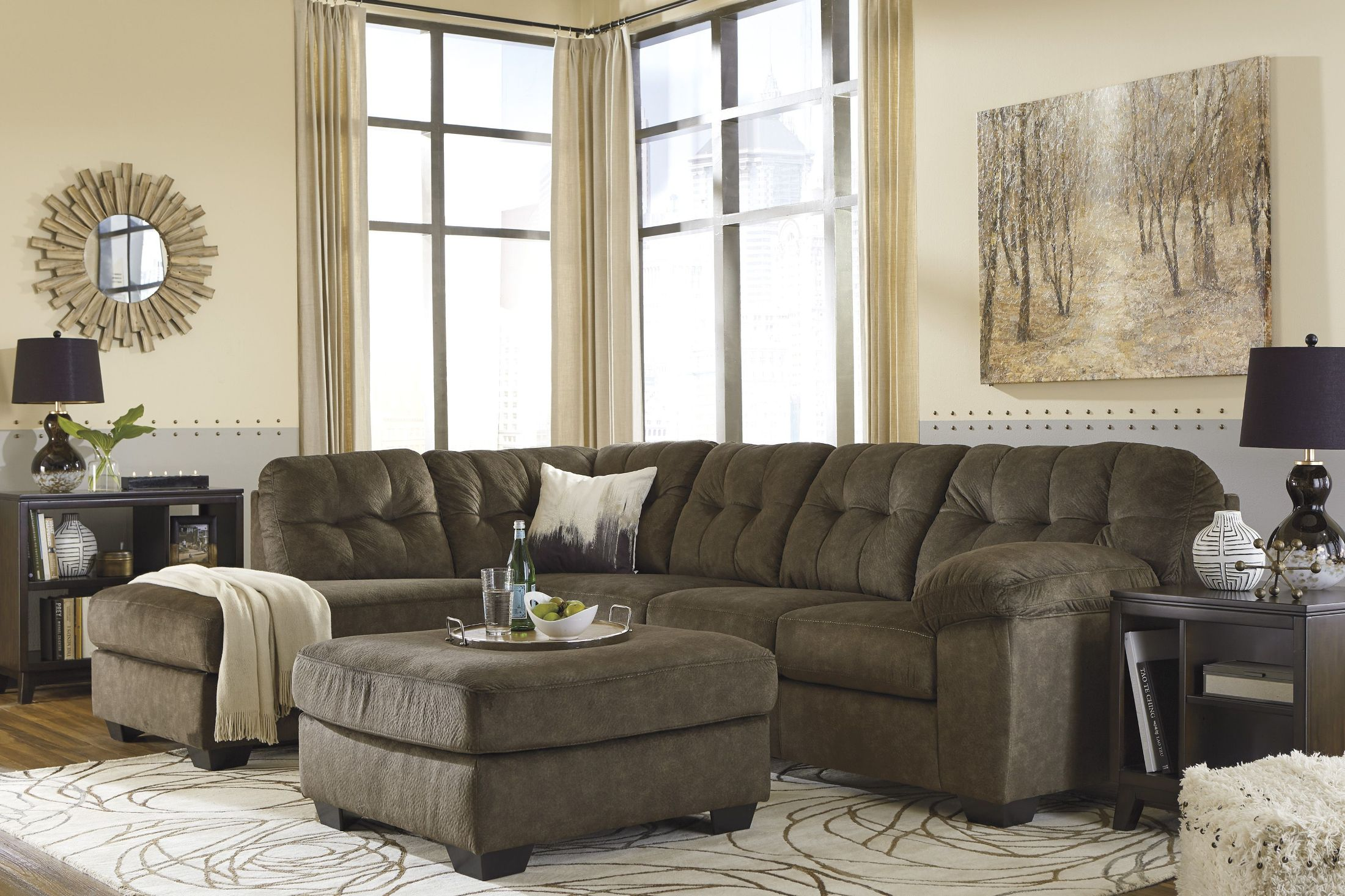 Accrington Earth LAF Sectional from Ashley