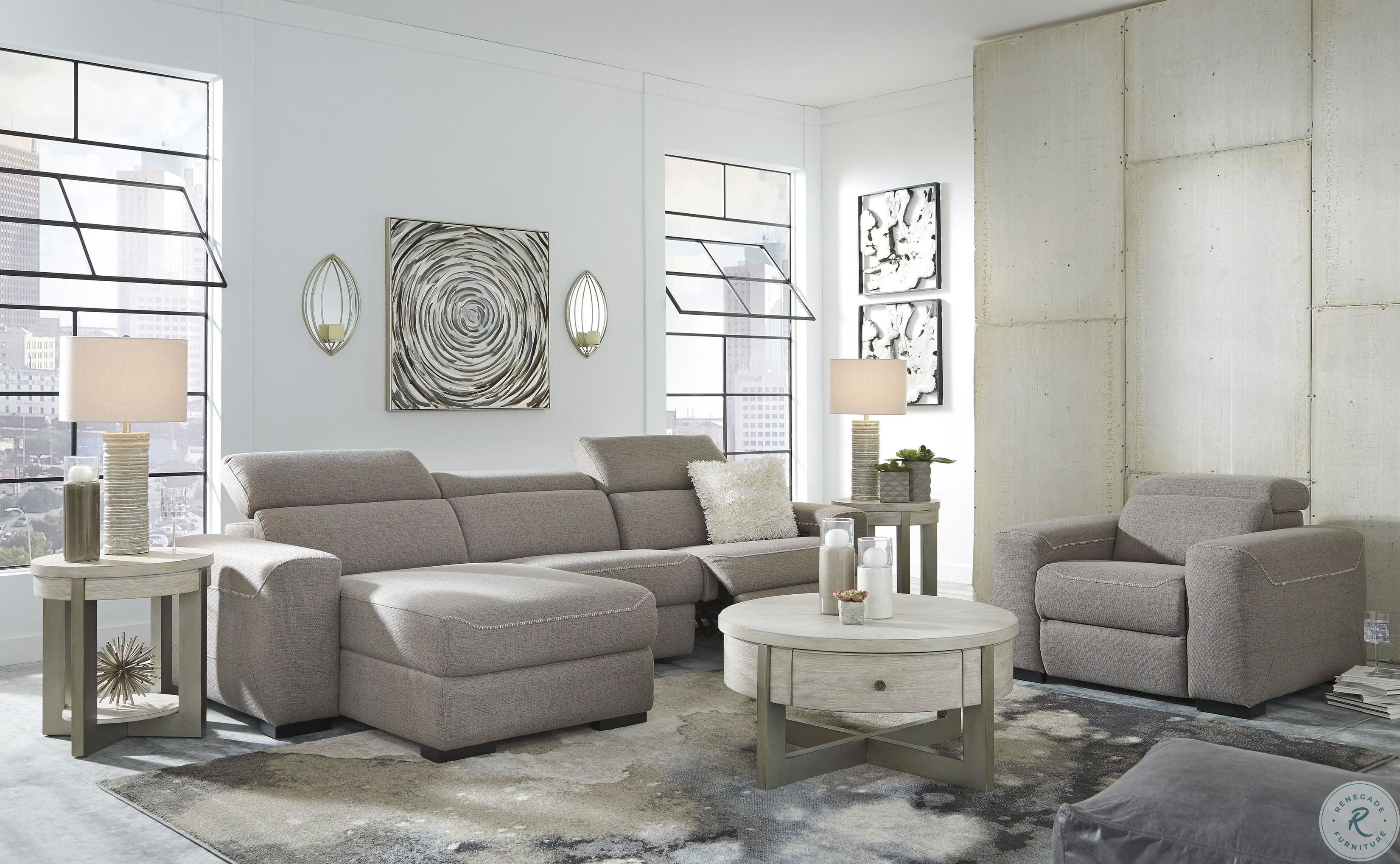 floor decor 44 photos 111 reviews home decor.htm josef gray power reclining laf sectional from furniture of america  josef gray power reclining laf