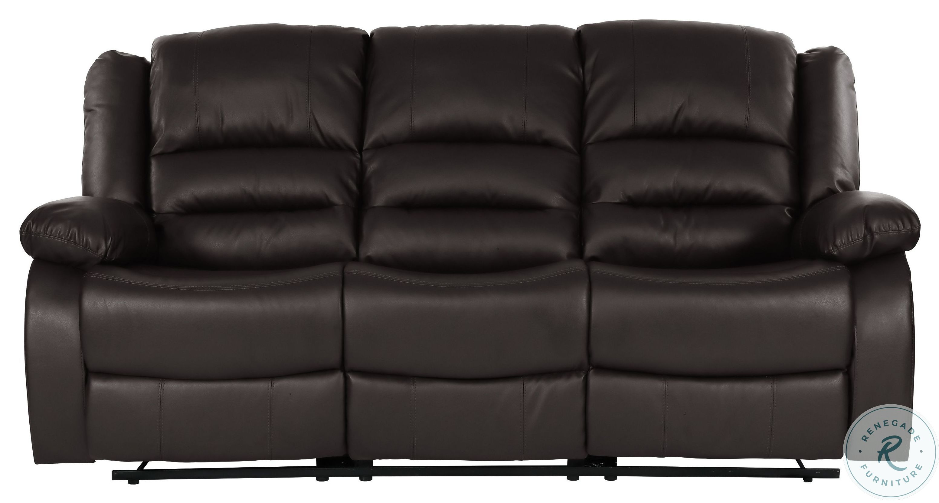Poise Brown Leather Power Recliner Sofa With Power Headrest From Hooker Coleman Furniture