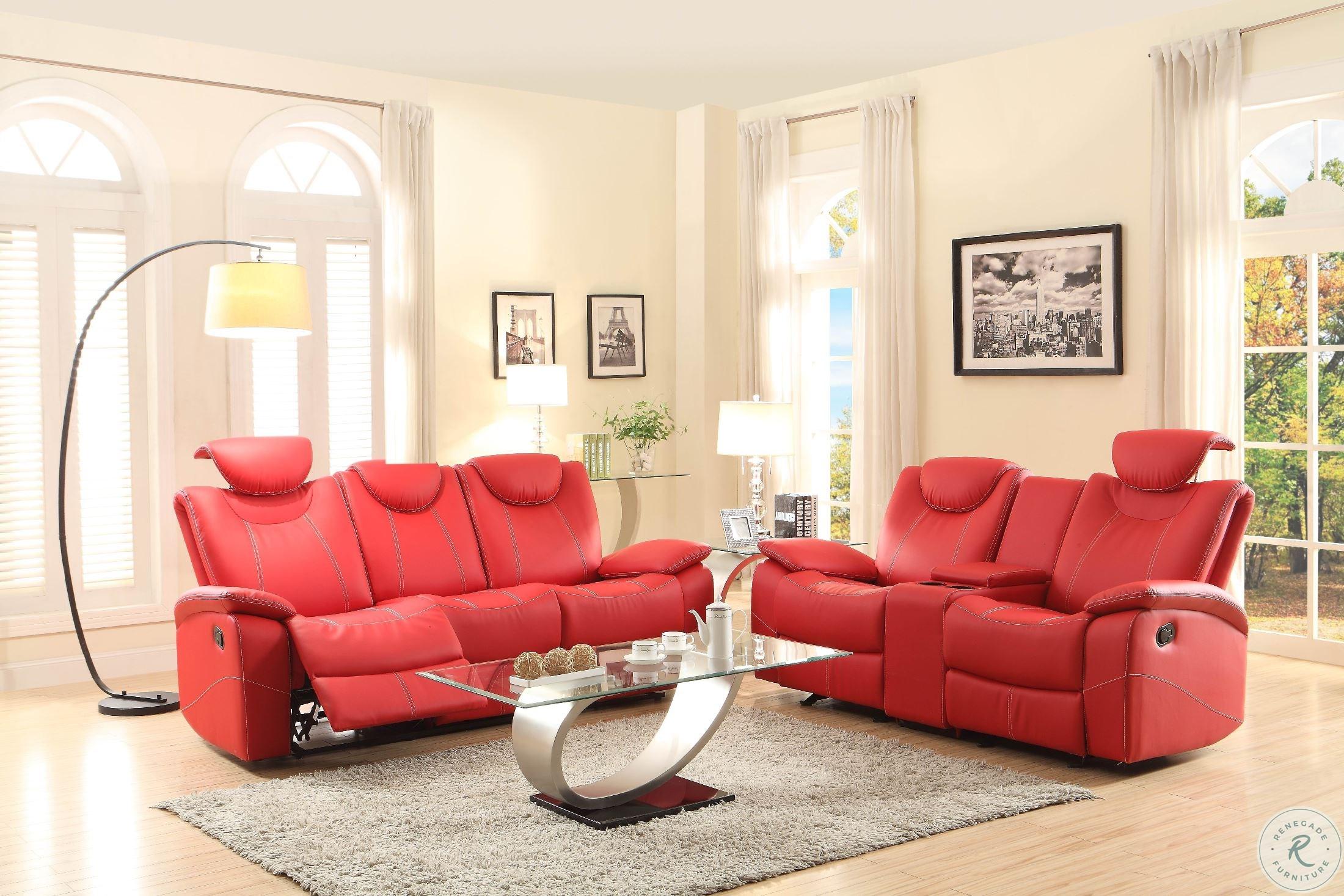 Pleasing Talbot Red Double Glider Reclining Loveseat With Console Inzonedesignstudio Interior Chair Design Inzonedesignstudiocom