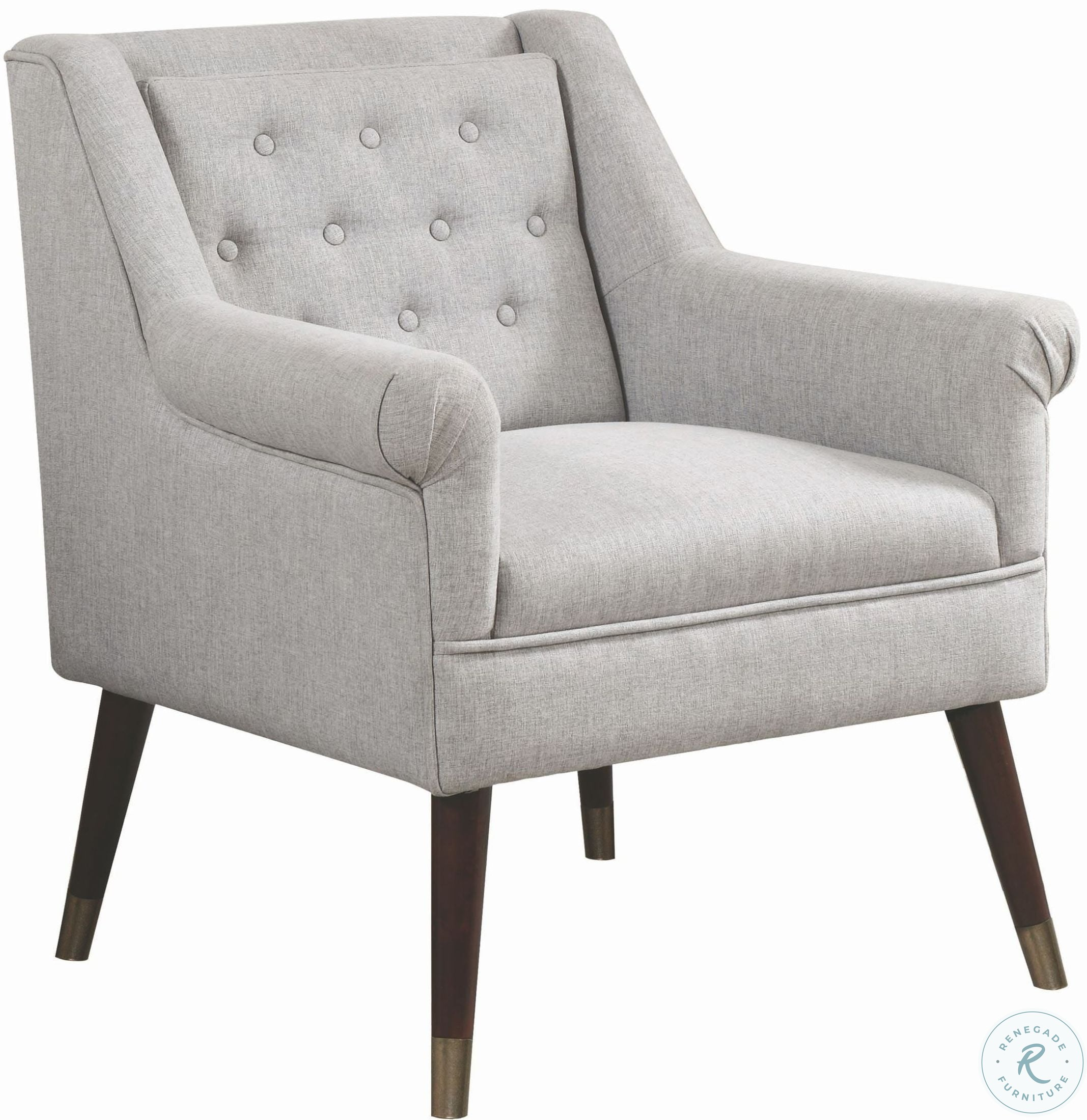 Image Of Item 903857 Light Gray Accent Chair