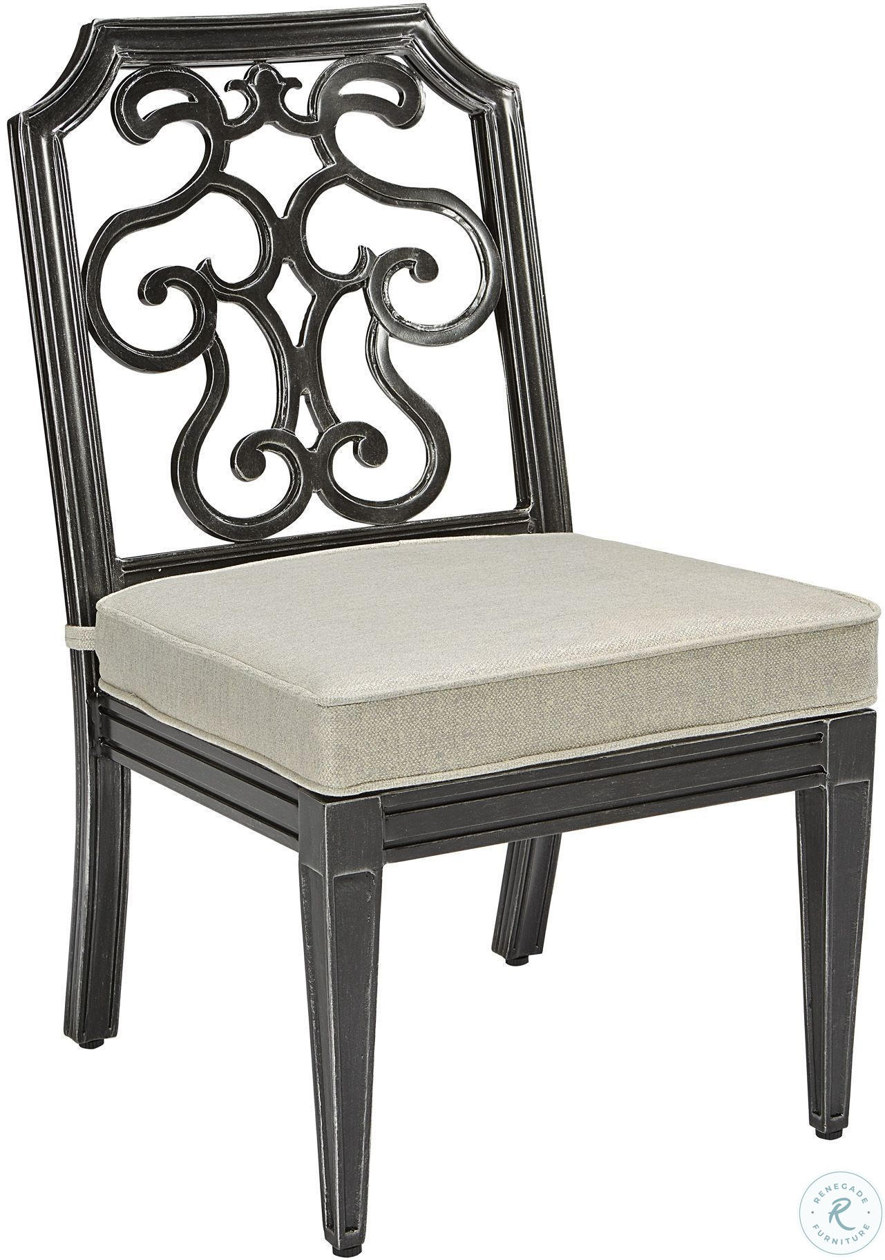 f9108ab9ef6f Image of ensemble item Arch Salvage Garden Gate Gabrielle Outdoor Side  Dining Chair Set of 2