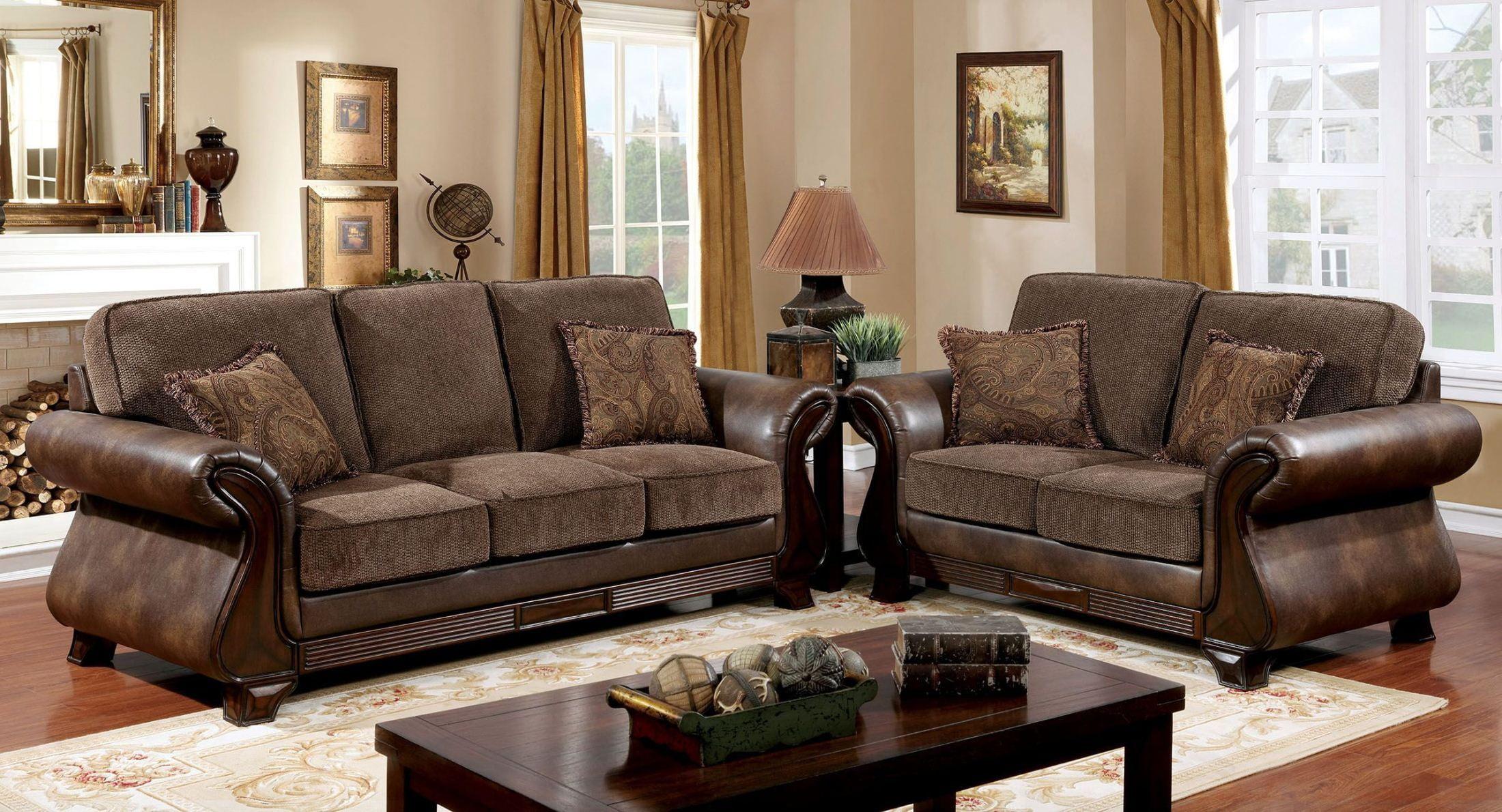 807e1761678bd3 Montgomery Mocha Living Room Set from Ashley (3830038)   Coleman ...