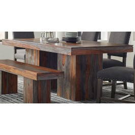 510584d01b6 Binghamton Grey Sheesham Dining Table by Scott Living from Coaster ...