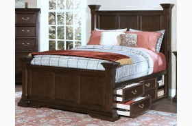 Timber City Sable Poster Storage Bed