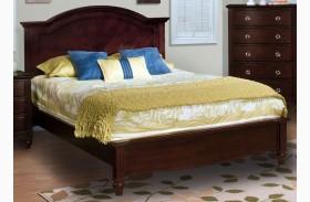 Victoria Espresso Panel Bed