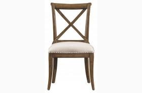 European Farmhouse Blond Fairleigh Fields Chair