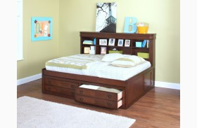 Sheridan Burnished Cherry Youth Lounge Bed