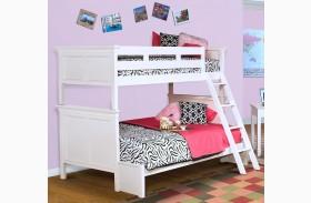 Tamarack White Bunk Bed