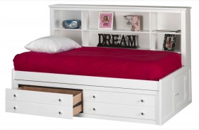 Bayfront White Youth Lounge Bed