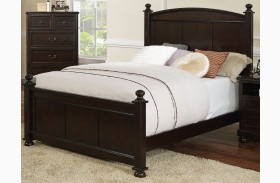Canyon Ridge African Chestnut Youth Poster Bed